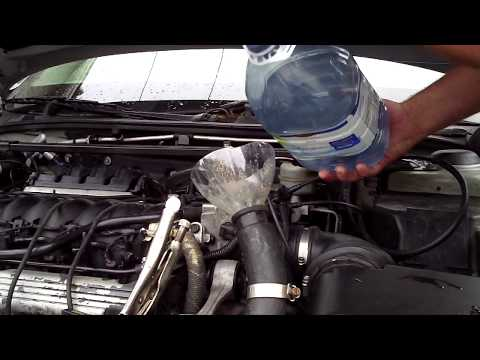 How to use Titan head gasket sealer for Cadillac Northstar engines - Part 13