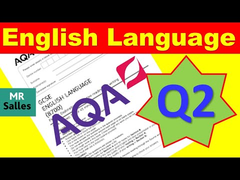 Examiner's Advice on Paper 1 Question 2 English Language GCSE 8700