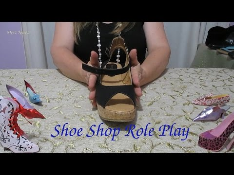 Shoe Shop Role Play ASMR New Collection