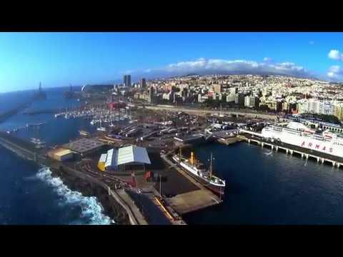 VSC - Turismo de cruceros en Santa Cruz de Tenerife HD