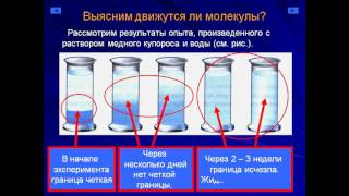 Презентация Молекулы  Диффузия  Взаимодействие молекул