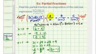 Ex 3: Partial Fraction Decomposition (Repeated Linear Factors)