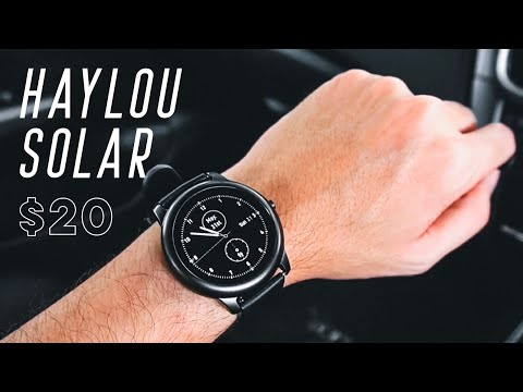 Xiaomi Haylou Solar Smartwatch Review Insane Value For Just 20 You Have To See This Youtube