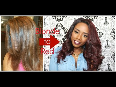 Changing My Hair Color Red Initial Thoughts | Her Hair Company