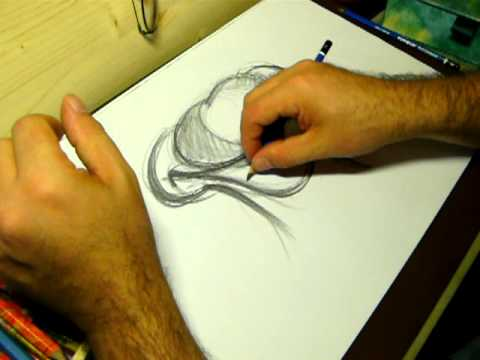 Scuola di disegno 1 school of drawing one youtube for Disegni facili da disegnare a mano libera