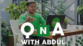Q n A With Abdul Indonesian Idol #GrabTakesYouThere