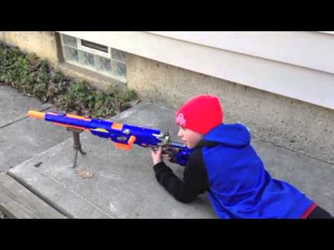 Elite nerf sniper youtube