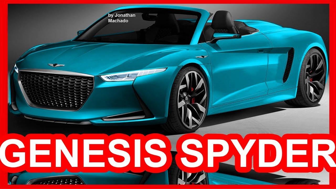 PHOTOSHOP 2017 Hyundai Genesis Spyder Concept #HYUNDAI ...