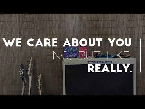 We care about you. No, but like, really. | Stringjoy
