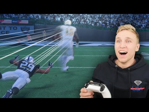 FASTEST NFL PLAYER IN THE WORLD! WHEEL OF MUT! EP. #33
