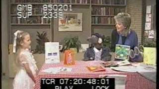 Roland Rat and Wincey Willis  - 2nd anniversary of TV-am - 1985