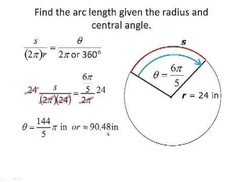 Trig 4.1b Angular and ... Angular Velocity Equation