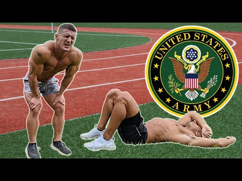 Bodybuilders try the US Army Fitness Test without practice