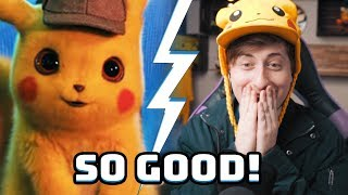 I'VE BEEN WAITING FOREVER! DETECTIVE PIKACHU MOVIE TRAILER | REACTION
