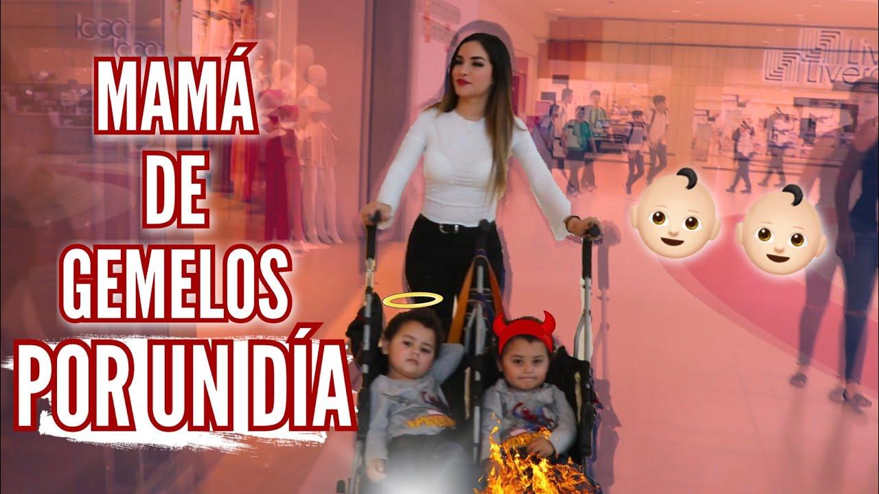 24 HORAS SIENDO MAMÁ DE GEMELOS (ME VOLVÍ LOCA) Kimberly Loaiza - clipzui.com