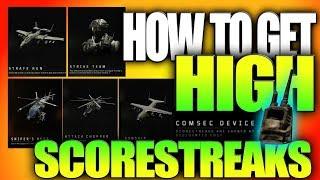 How to Get HIGH SCORESTREAKS EASIER in Black Ops 4..