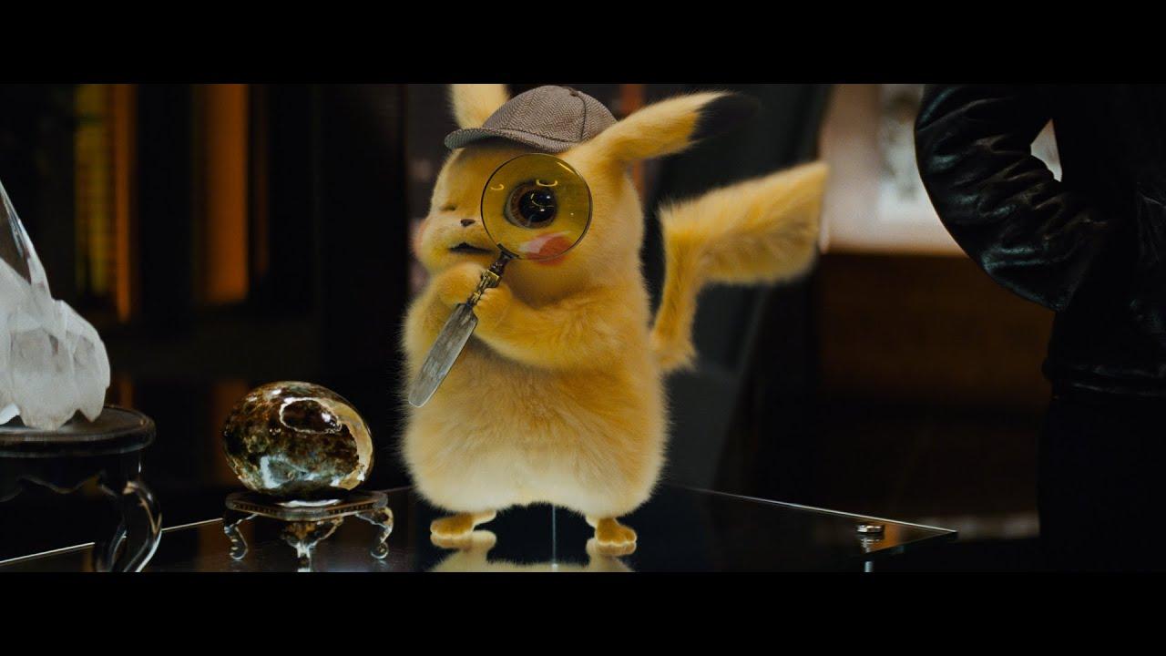 《POKÉMON 神探 Pikachu》港版官方主預告 - YouTube