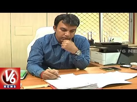 IAS Officer Sandeep Kumar Takes Charge As Khammam Municipal Corporation Commissioner | V6 News
