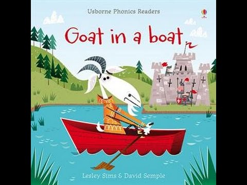 usborne books kit book 4 phonics readers goat in a boat youtube