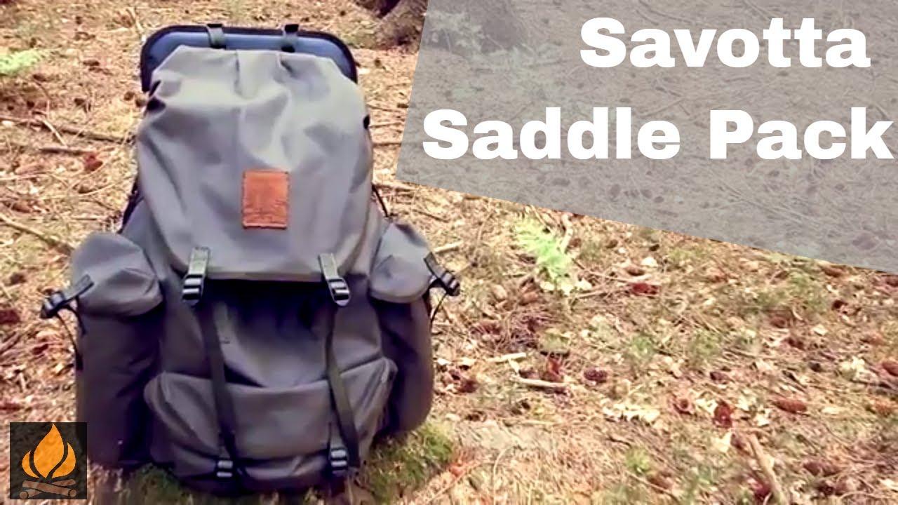 Savotta Saddle Pack 339 Review Classic Line Bushcraft Rucksack ... 05ddb496ab
