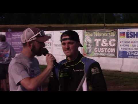 Susquehanna Speedway ARDC MIdget Victory Lane 06-12-16