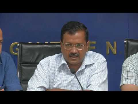 Delhi CM Arvind Kejriwal Made 2 Major Announcement : CCTV Camera's & Free Metro & Bus Ride for Women