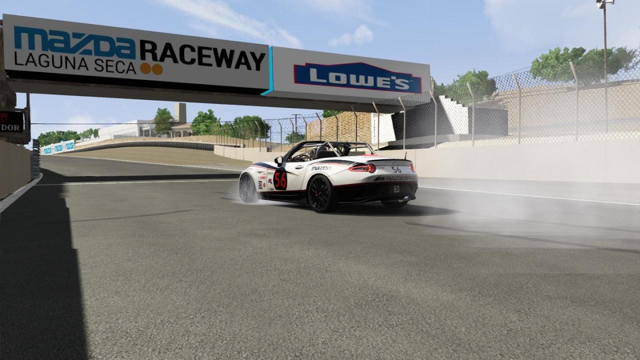 Assetto Corsa : Mazda MX5 Cup Race at Mazda Raceway Laguna Seca (PC ...