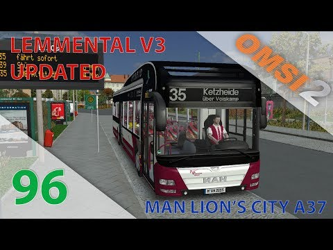 [OMSI 2] Episode n°96 : Ligne 35 en MAN Lion's City A37 Hybrid