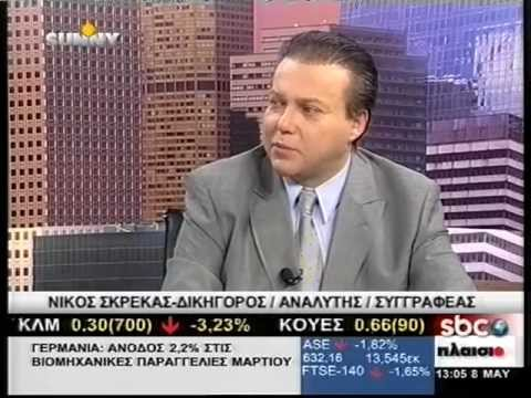 Nick Skrekas-Greek Post-Election Disarray, EU Power Shift, Euro-exit Risks-8 May '12