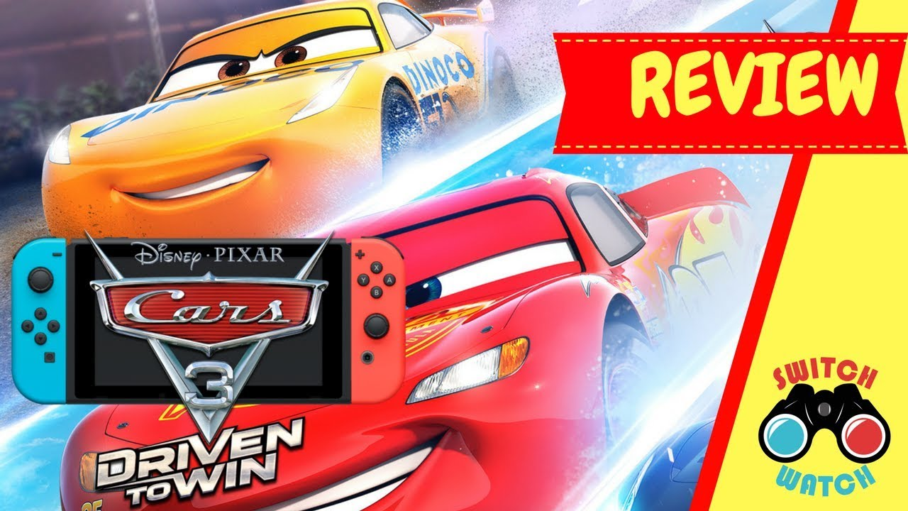Cars 3 Driven To Win Switch Review