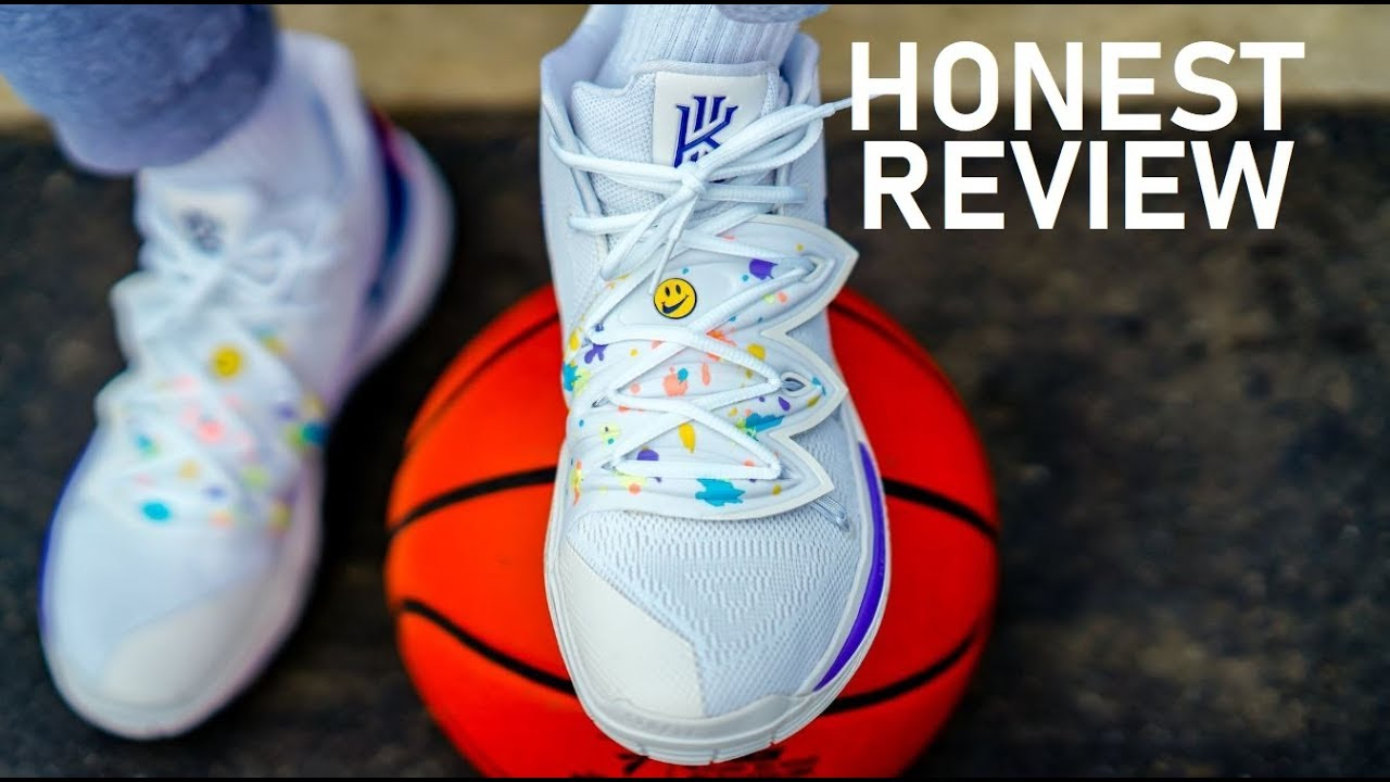Nike Kyrie 5 Have a Nike Day Sneaker Detailed Look Review