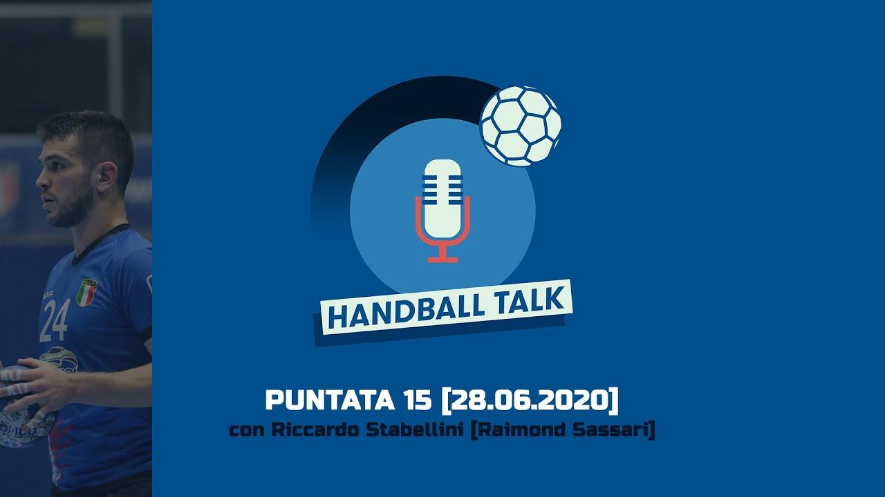 HandballTalk - Puntata 15: con Riccardo Stabellini