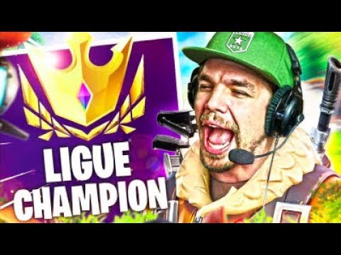 EN ROUTE POUR LA LIGUE CHAMPION SUR FORNITE !?