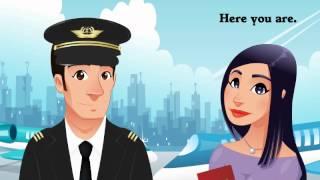 Cours d'anglais : Conversation en Anglais, A l'aéroport (Ted and Betty 15)