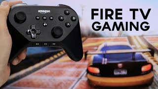 Amazon Fire TV: Gaming Demo And Controller Overview