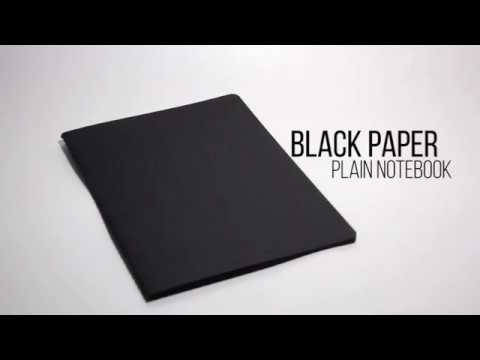 Review: Black Paper Plain Notebook