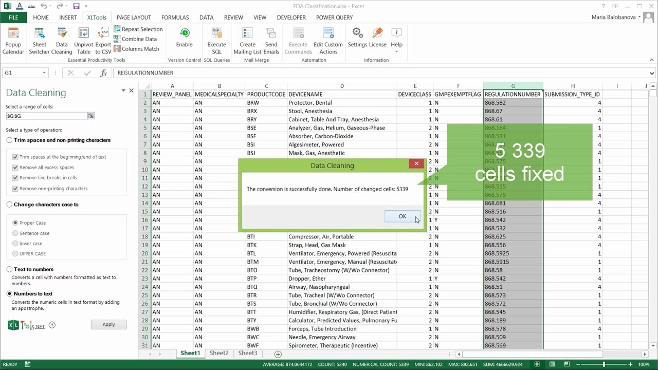 Data Cleaning in Excel | XLTools – Excel Add-ins You Need Daily
