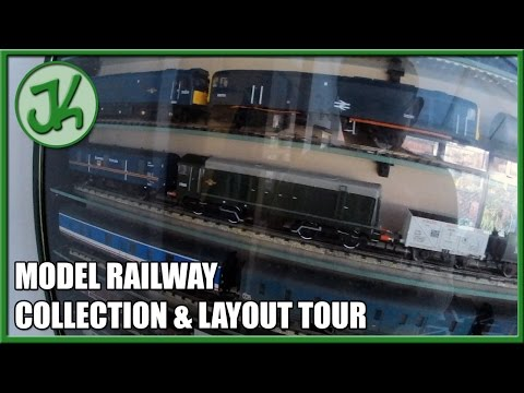 Model Railway collection and layout tour  JennyCam 1