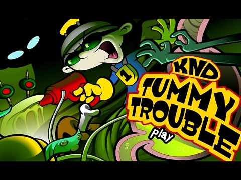 Codename: Kids Next Door – TUMMY TROUBLE