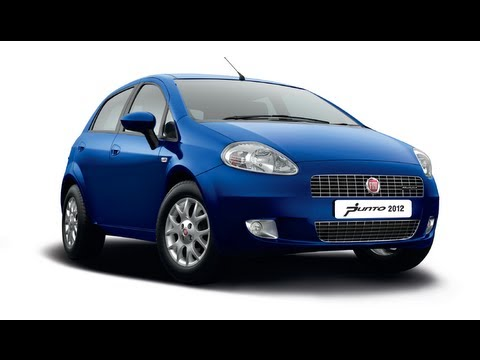 fiat grande punto 2012 new model walk around exteriors and. Black Bedroom Furniture Sets. Home Design Ideas