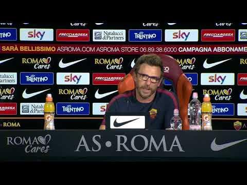 """ROMA-INTER Di Francesco: """"Conta solo la Roma, voglio i 3 punti domani"""""""