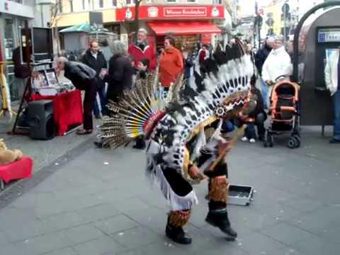 Native American Tänzer in Berlin - Native American Dancers in Berlin