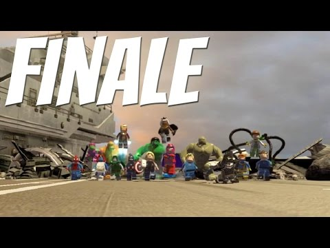 FINALE | Vinnie & Joe Play Lego Marvel Superheroes - Episode #17