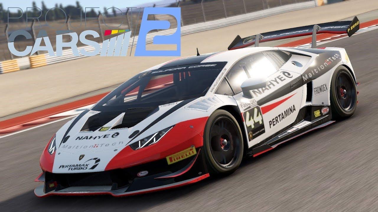 Project Cars 2 Let S Play Lamborghini Huracan Super Trofeo Series