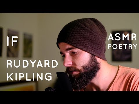 Deep Voice ASMR Poetry - If - Rudyard Kipling Poem - Deep Voice Triggers