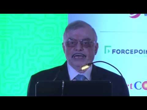 Justice P Sathasivam In Conversation With Anant Goenka At Express Technology Sabha's 19th Edition