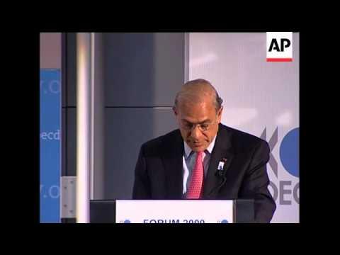 OECD presser on European economic outlook