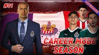 FIFA 18 CHIVAS CAREER MODE SEASON 1 EP1