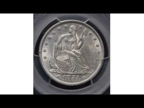 The History Of The Seated Liberty Half Dollar