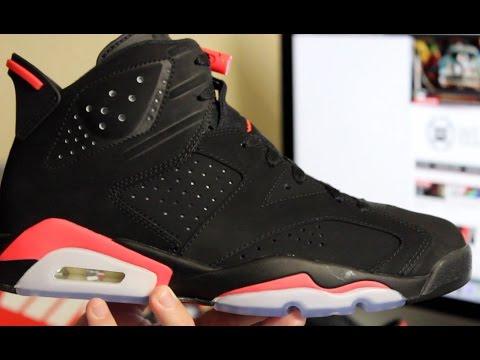 87bb2d468bb Air Jordan 6 Retro Black/ Infrared23. WearTesters